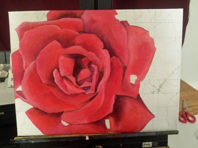 Painting The Roses Red continues.